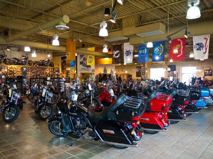 Barb's Harley-Davidson Motorcycle Dealership   DFX Sound ...