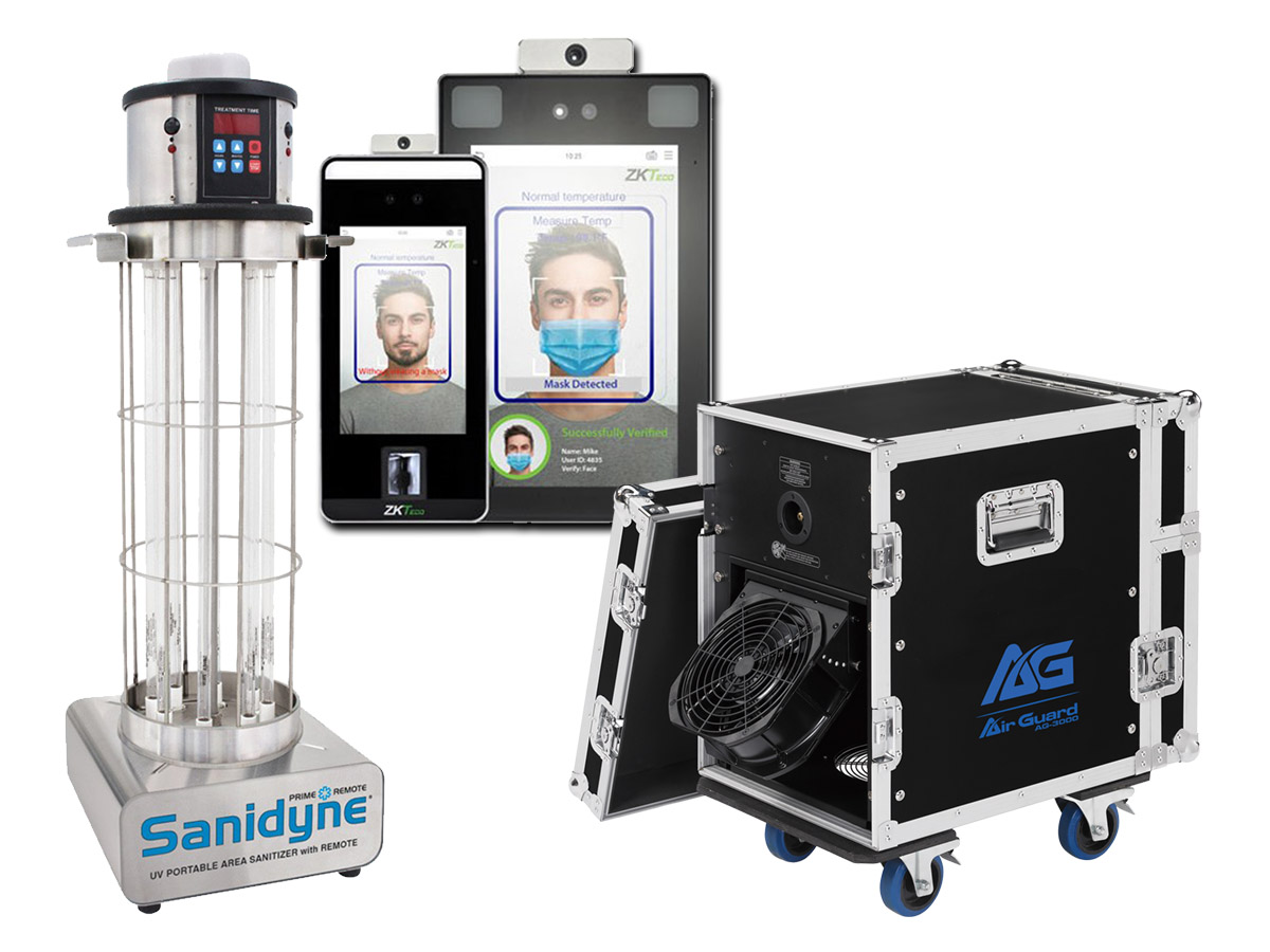 Disinfection and Thermal Detection Products