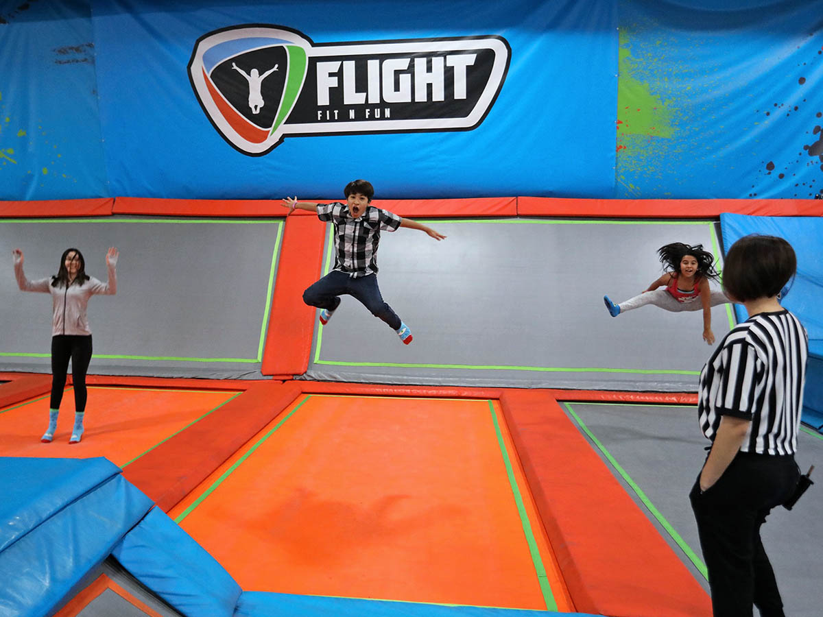 Flight Fit N Fun Trampoline Park