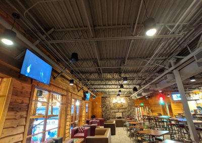 restaurant with AV systems